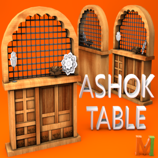 MeshIndia Ashok Table ad picture