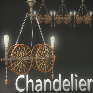 MI- Chandelier Decor
