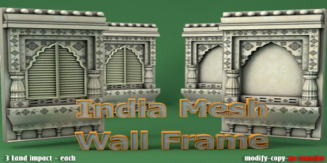 MI Indian Mesh Wall Frame 40% DIscount