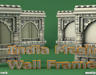 MI Indian Mesh Wall Frame 40% DIscount